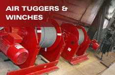 Air Tuggers & Winches
